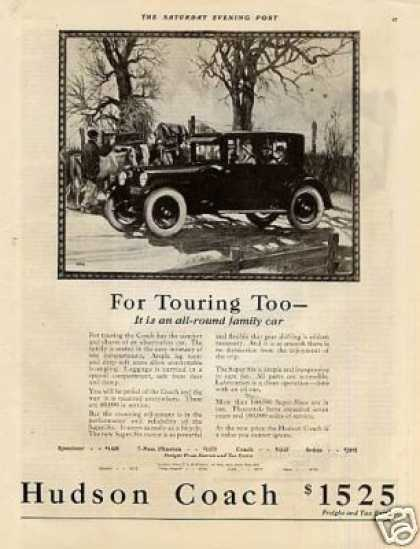 "Hudson Coach Ad ""For Touring Too... (1923)"