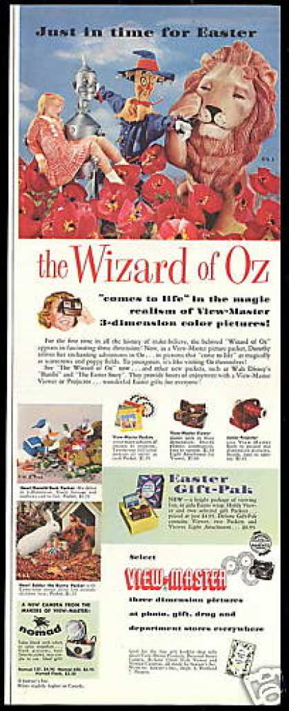Wizard of OZ View Master Viewer Projector (1957)