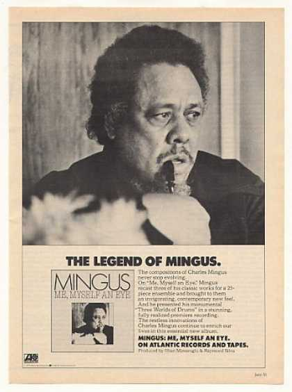 Charles Mingus Me Myself An Eye Photo (1979)