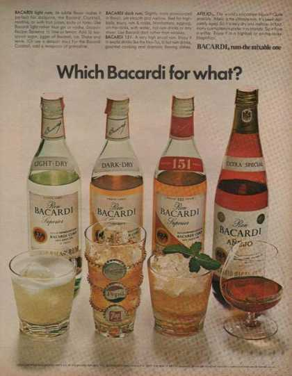 Which Bacardi for What Rum (1970)