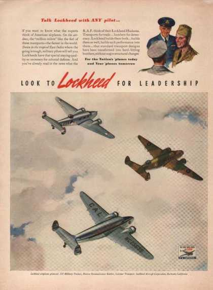 Lockheed Airplanes for Leadership (1941)