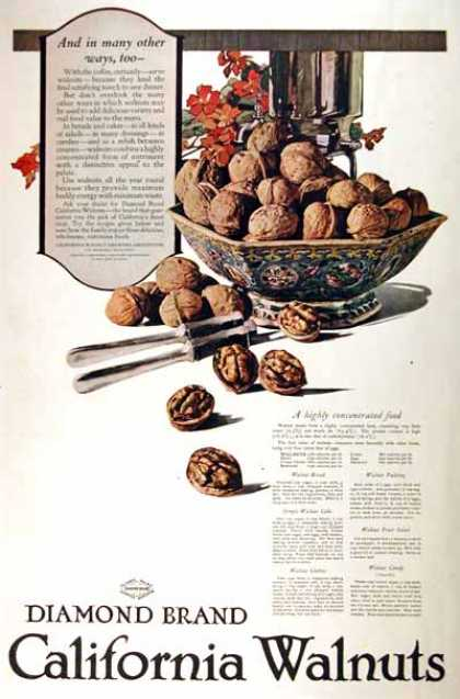 Diamond California Walnuts (1919)