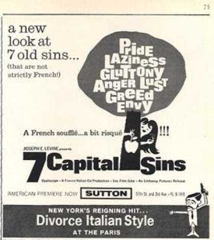Sutton Theatre Feature 7 Capital Sins (1963)