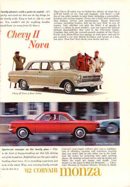 Chevy Ii Nova Corvair Monza Club Coupe (1962)