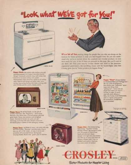 Crosley Home Appliances (1949)