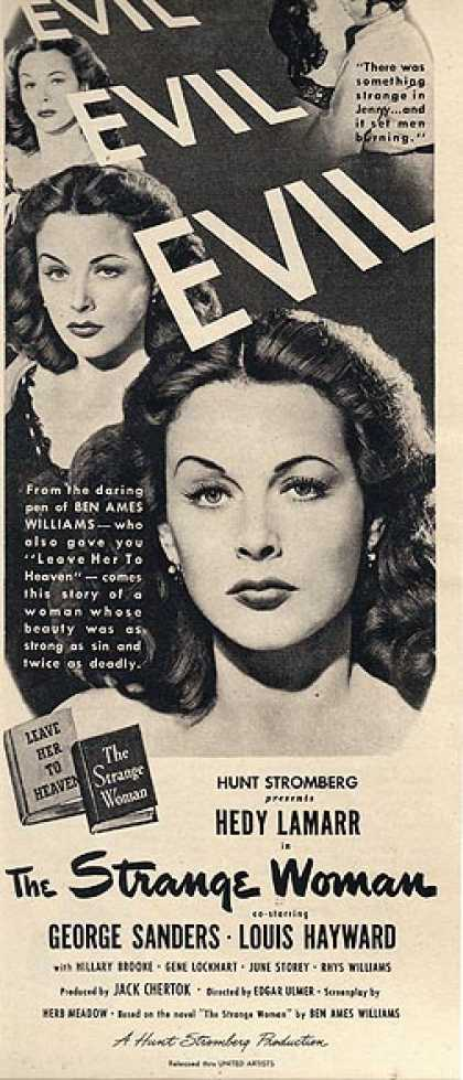 The Strange Woman (Hunt Stromberg) (1946)
