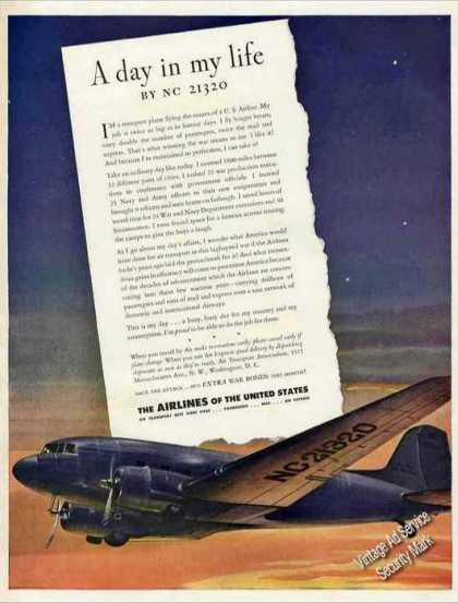 Wwii Airlines of the United States (1943)