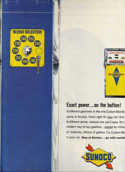 Sunoco's Blend Selector (1963)