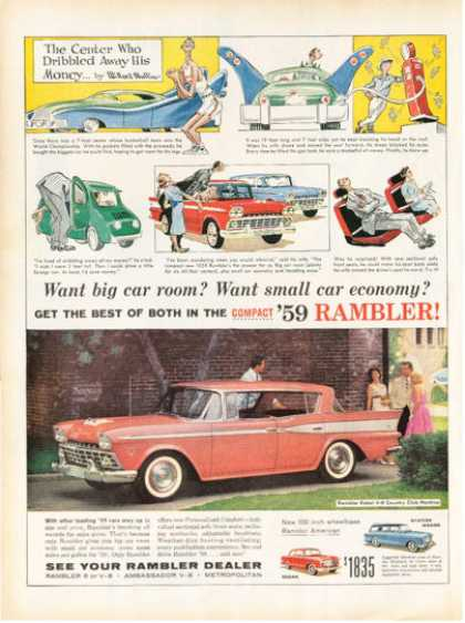 Rambler Rebel Country Club Hardtop (1959)