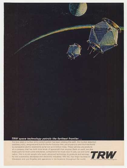 NDS Nuclear Detection Satellites TRW Space (1965)
