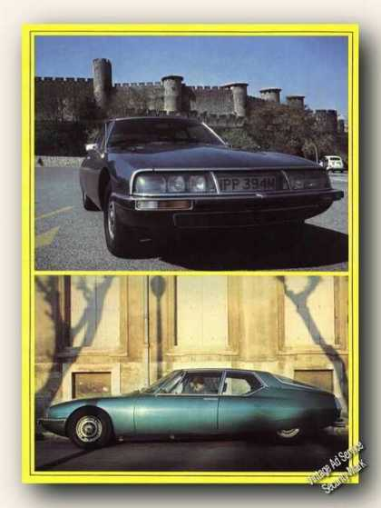 Citroen Sm Efi Photos Uk Print Feature Cars (1975)