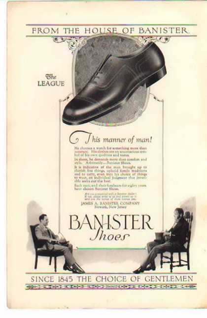 Banister Shoes – The League / From the House of Banister (1925)