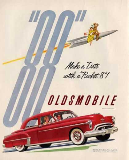 Oldsmobile 88 Olds Rocket 8 (1950)
