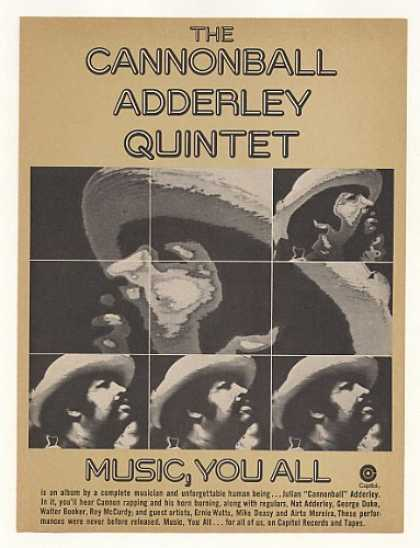 Cannonball Adderley Quintet Music You All (1976)