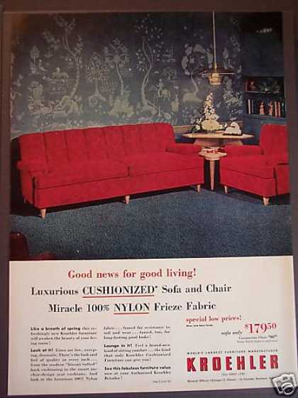 Kroehler Furniture Sofa Chair (1953)