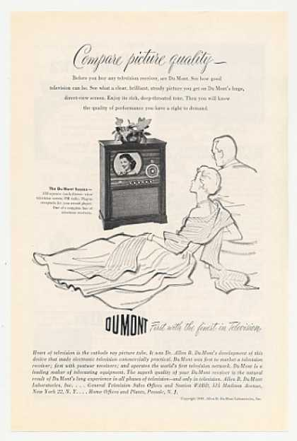 Du Mont Sussex TV Radio Television (1949)