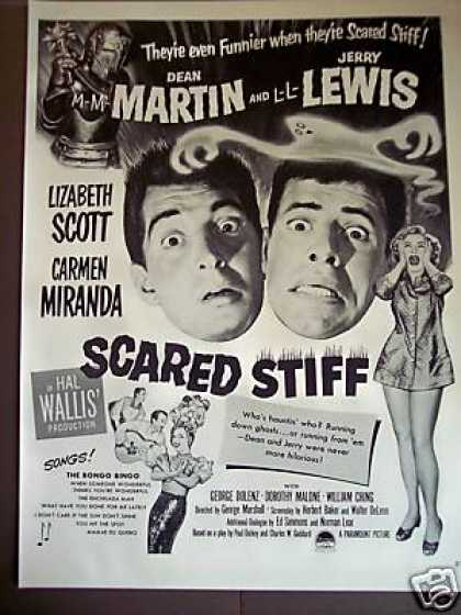 Martin & Lewis In Scared Stiff Movie Promo (1953)
