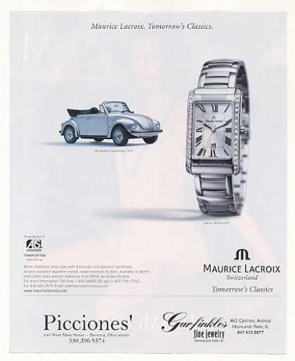 Maurice Lacroix Watch '73 VW Beetle Convertible (2001)