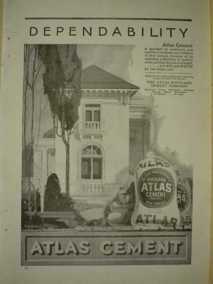 Atlas Portland Cement Co New York, NY (1920)