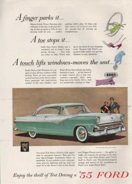 Ford Fairlane Victoria Car (1955)