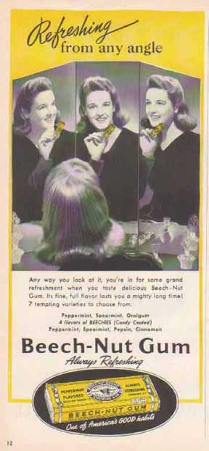 Beech-Nut Gum – There is no better gum… (1940)