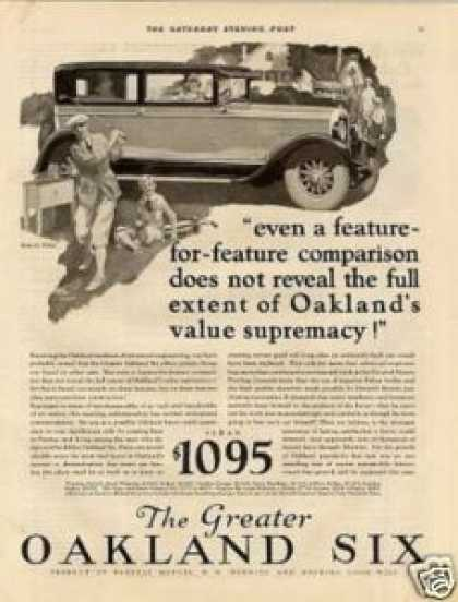 Oakland Six Car (1927)