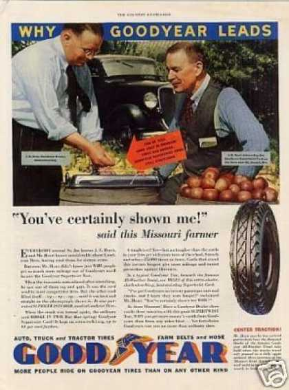 Goodyear Tire Color (1933)