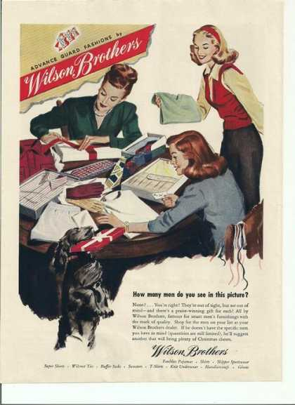 Wilson Brothers Mens Clothing (1946)