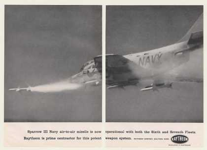 Raytheon Sparrow III Navy Air-to-Air Missile 2P (1959)