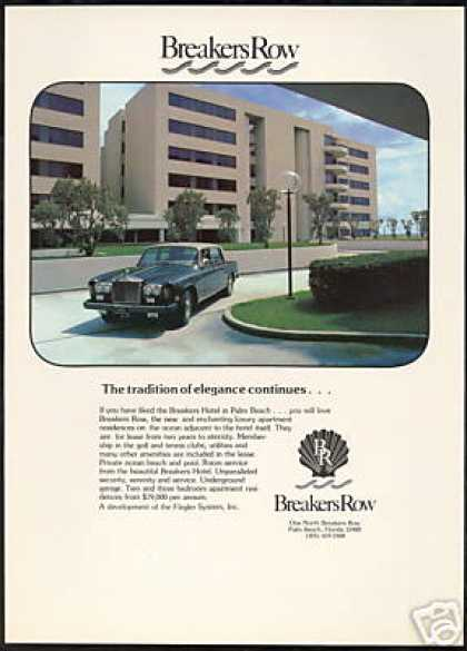 Rolls Royce Breakers Row Apartment Florida (1978)