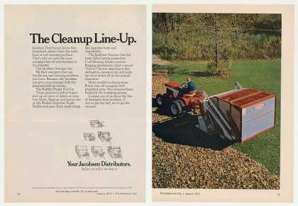 Jacobsen Turf Sweeper 2-Page (1972)