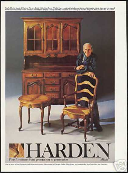 Harden Etoile Furniture Chair Table Photo (1986)