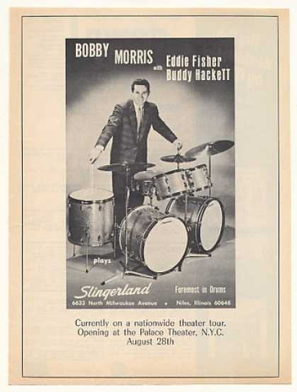 Bobby Morris Slingerland Drums Photo (1967)