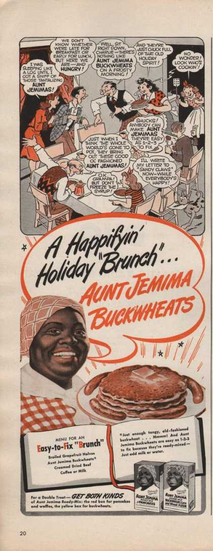 Aunt Jemima Pancakes Cartoon (1942)