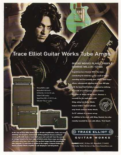 Dominic Miller Trace Elliot Guitar Works Amps (1996)