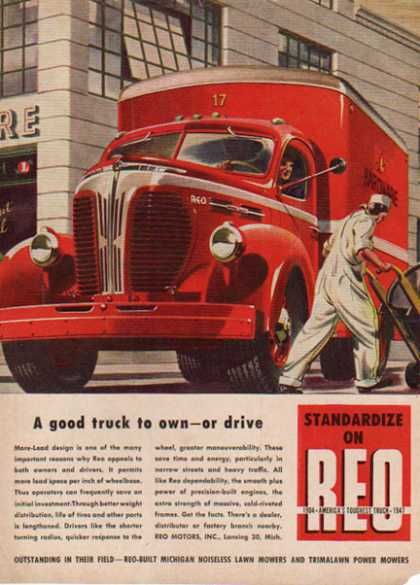 REO Trucks – America's toughest truck 1904-1947 – Sold (1944)