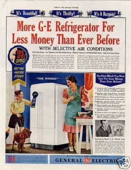 General Electric Refrigerator (1939)