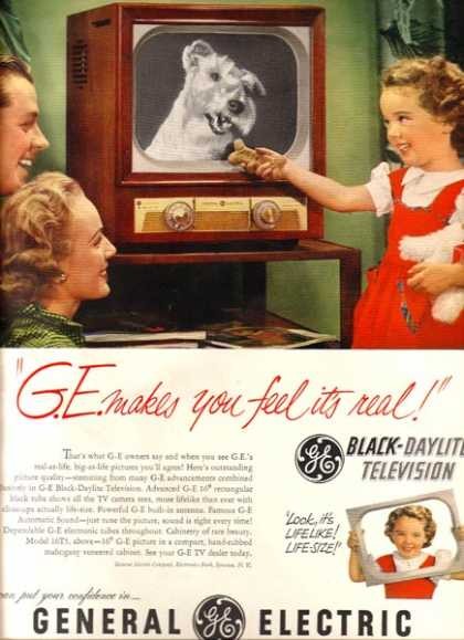 General Electric's Black-Daylite Television (1951)