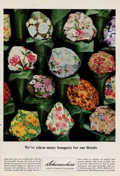 Schumacker's Floral Pattern Flowers (1965)