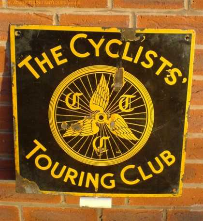 Early Cycle Touring Club Sign
