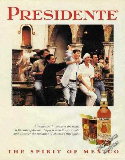 "Presidente Brandy ""The Spirit of Mexico"" (1991)"