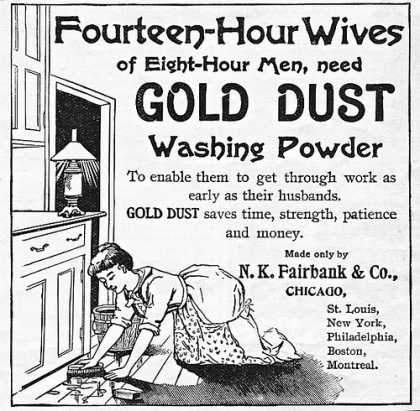 Gold Dust Washing Powder Ad