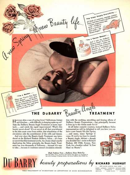 Richard Hudnut's Beauty-Angle – A new Spring...A new Beauty life (1938)