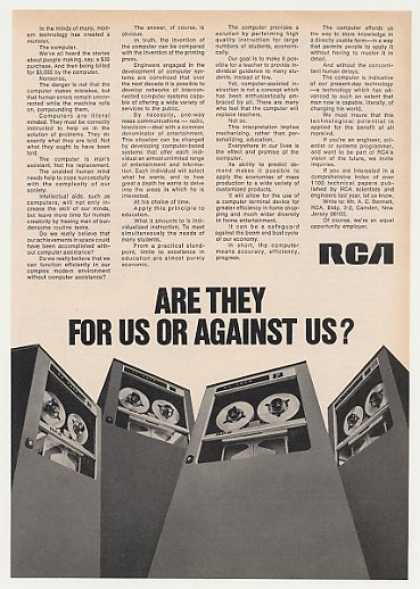 RCA Computers Are They For Us or Against Us? (1971)