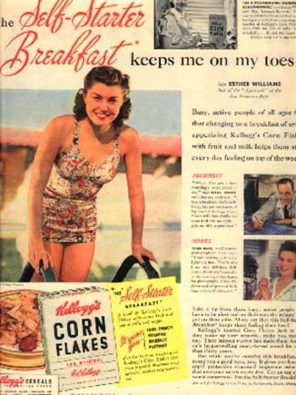Kellogg's Esther Williams (1941)