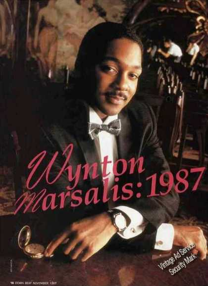 Wynton Marsalis Magazine Photo Nice Print Feature (1987)