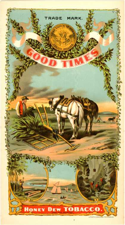 Unknown's Honey Dew Tobacco – Good Times