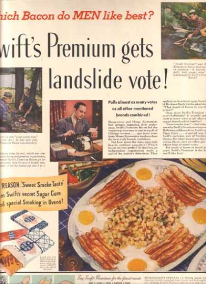 Swift's Premium Bacon (1940)