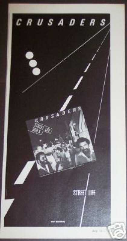 Crusaders Street Life On Mca Record Promo (1979)