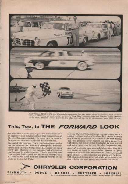 Chrysler Corp Race Cars (1955)